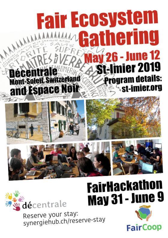FairCoin Hackathon May 26 - June 12 2019 in Switzerland